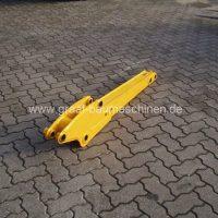 Löffelstiele für Minibagger JCB 802 Super