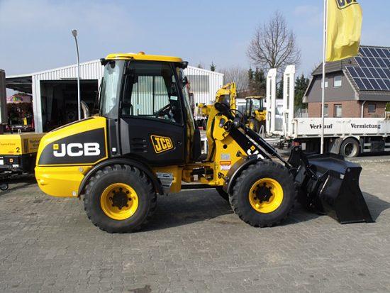 Radlader JCB 406