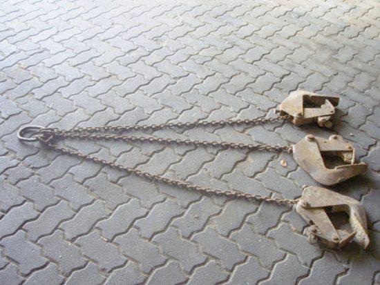 Schachtklammern 1500 kg