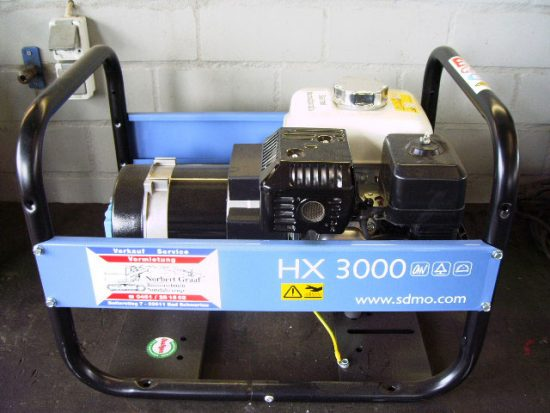 Stromaggregat HX 3000
