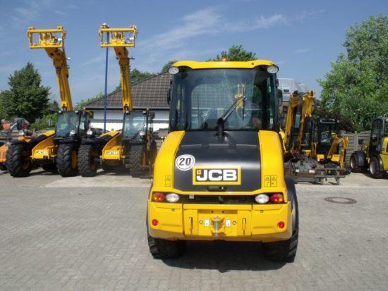 Radlader JCB 407 SRS Hub- gerüstfederung