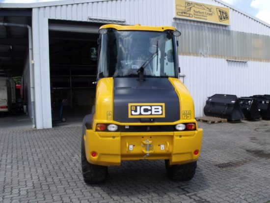 Radlader JCB 409 SRS Hubgerüstfederung