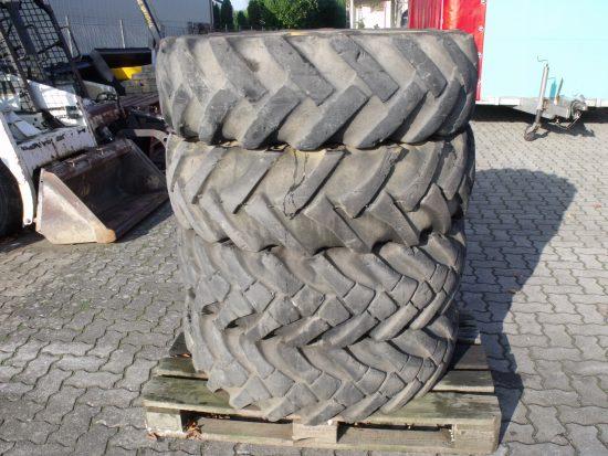 4x gebrauchte Reifen 12,5-20